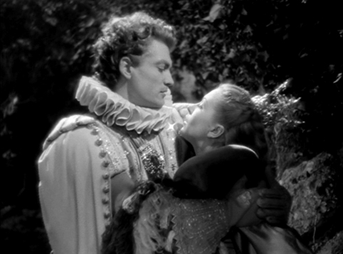 Josette Day as Belle and Jean Marais as The Beast as a human Prince La Belle et la Bete Jean Cocteau 1946 picture image