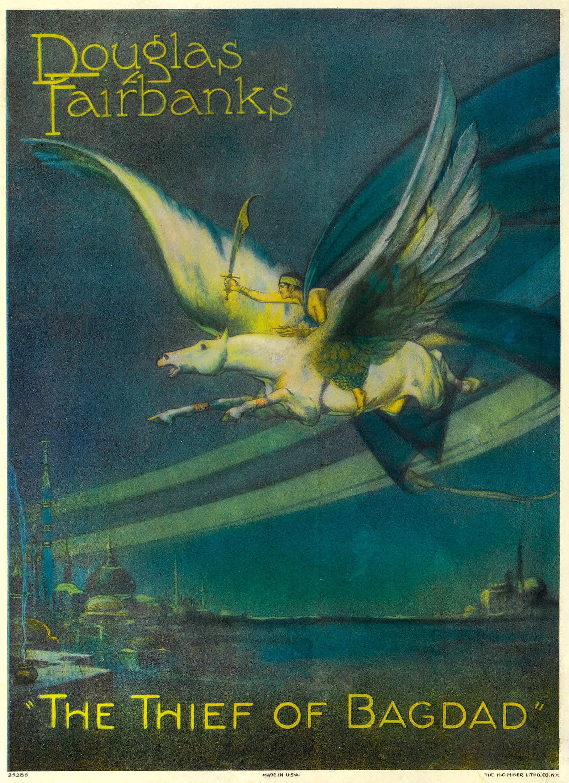 1924 The Thief of Bagdad picture image