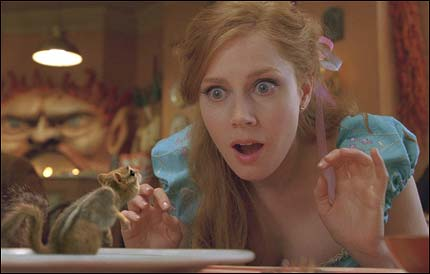 Amy Adams as Giselle with Pip Enchanted picture image