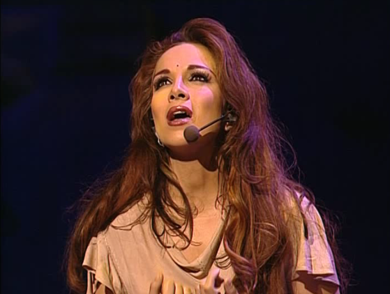 Helene Segara as Esmeralda performing Vivre Notre Dame de Paris picture image