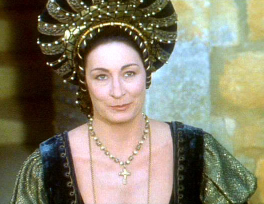Anjelica Huston as Baroness Rodmilla de Ghent Ever After: A Cinderella Story picture image