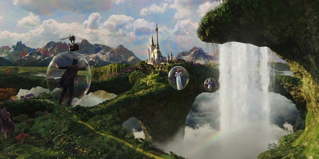 Bubble travel Oz The Great and Powerful picture image