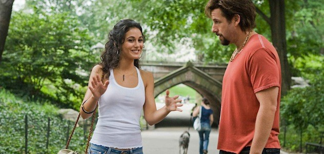 Adam Sandler as Zohan with Emmanuelle Chriqui as Dalia in You Don't Mess with the Zohan picture image
