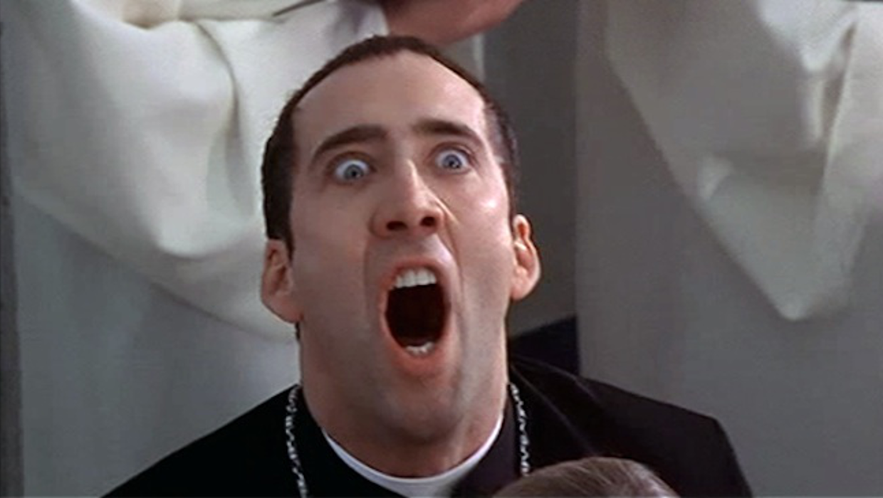 Nicolas Cage as Castor Troy from Face/Off picture image