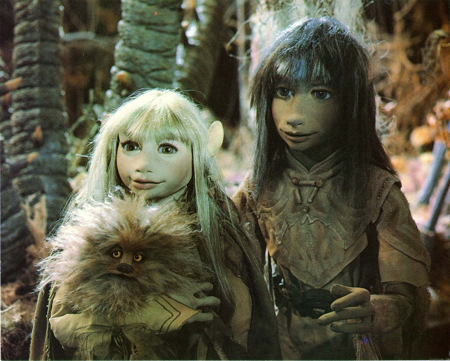 Kira, Jen and Fizzgig The Dark Crystal picture image