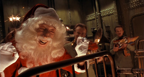 Daniel Emilfork as Krank dressed as Santa The City of Lost Children picture image