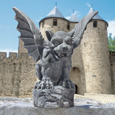 Outdoor Gargoyle statue picture image