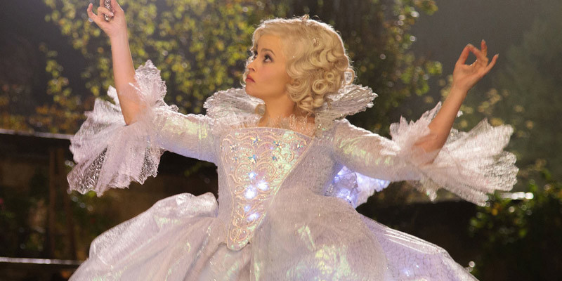 Helena Bonham Carter as The Fairy Godmother Cinderella 2015 picture image