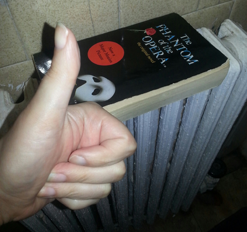 Improve Books with heat Phantom of the Opera picture image silly