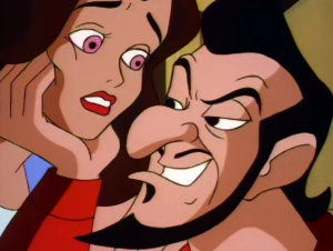 Frollo and Esmeralda The Secret of the Hunchback picture image
