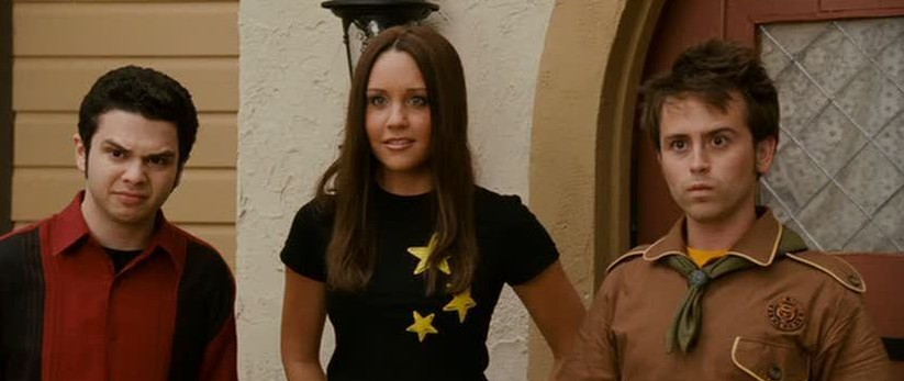 Amanda Bynes as Sydney with two dorks Sydney White picture image
