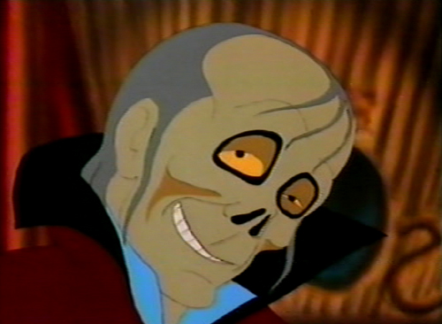 1987 Animated cartoon Phantom of the Opera picture image