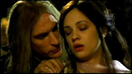 Julian Sands as The Phantom & Asia Argento as Christine Daae The Phantom of the Opera Argento picture image