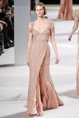 Blush Gown Elie Saab Spring 2011 picture image