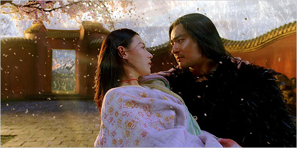 Jang Dong-gun as Kunlun & Cecilia Cheung as Qingcheng The Promise picture image review