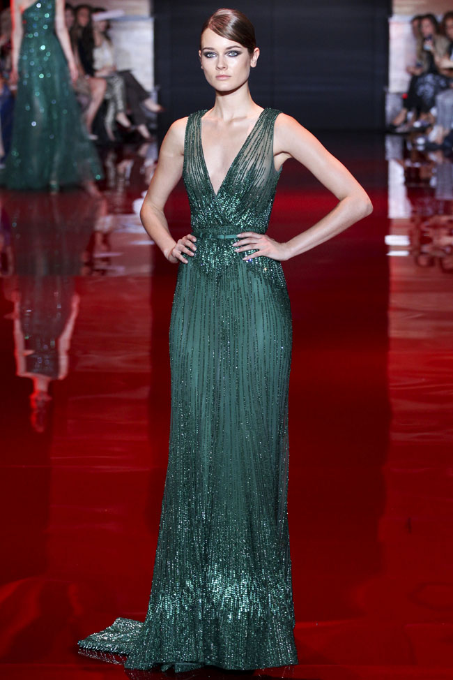 Green Gown by Elie Saab Eall-Winter 2013-2014 picture image