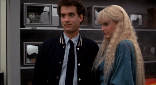 Tom Hanks as Allen & Daryl Hannah as Madison Splash picture image