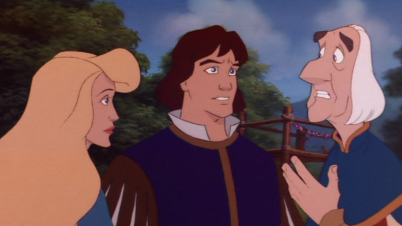 Odette, Derek, and Rogers The Swan Princess: The Mystery of the Enchanted Treasure picture image