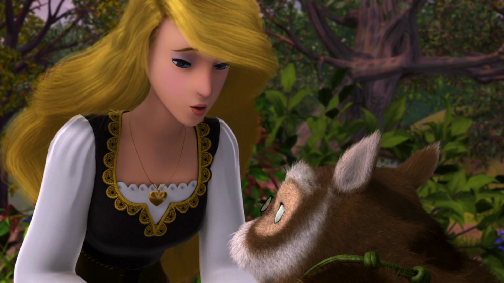 Odette with a nice Scullion The Swan Princess: A Royal Family Tale picture image