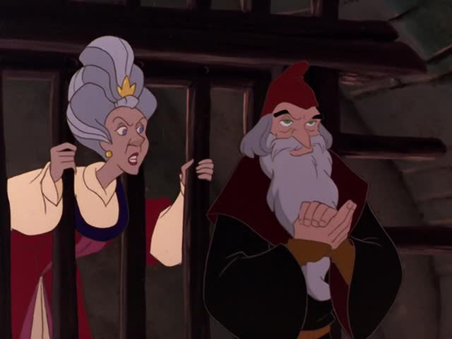 Clavius and Uberta The Swan Princess: Escape from Castle Mountain picture image
