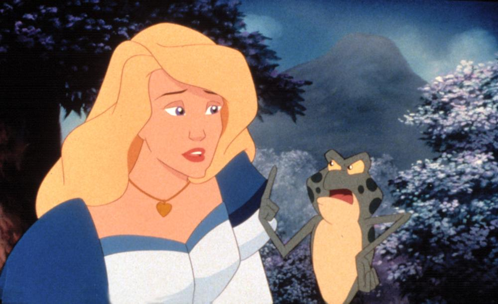 Odette and Jean-Bob The Swan Princess: Escape from Castle Mountain picture image