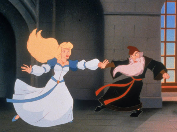 Odette and Clavius The Swan Princess: Escape from Castle Mountain picture image