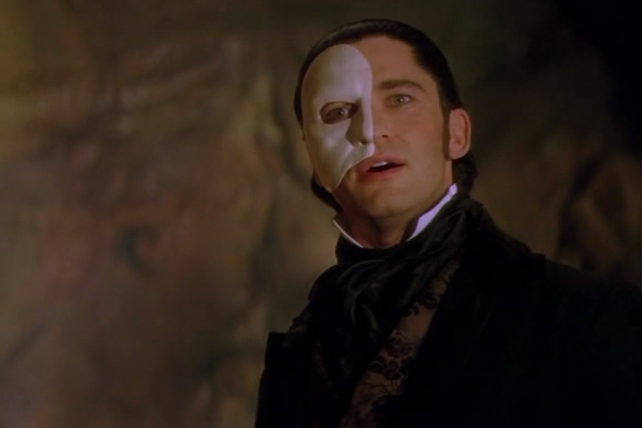 Gerard Butler as The Phantom, The Phantom of the Opera picture image