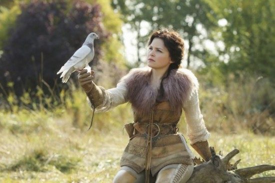 Ginnifer Goodwin as Snow White, ABC's Once Upon a Time, 7:15 A.M. picture image