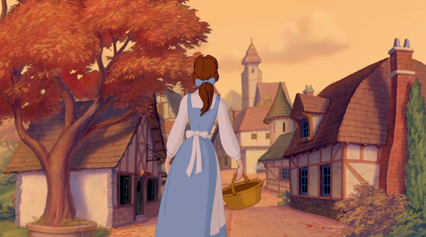 Belle and the Provincial Town, Beauty and the Beast picture image
