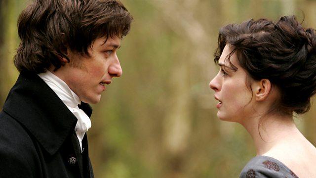 Anne Hathaway as Jane Austen & James McAvoy as Tom Lefroy Becoming Jane picture image