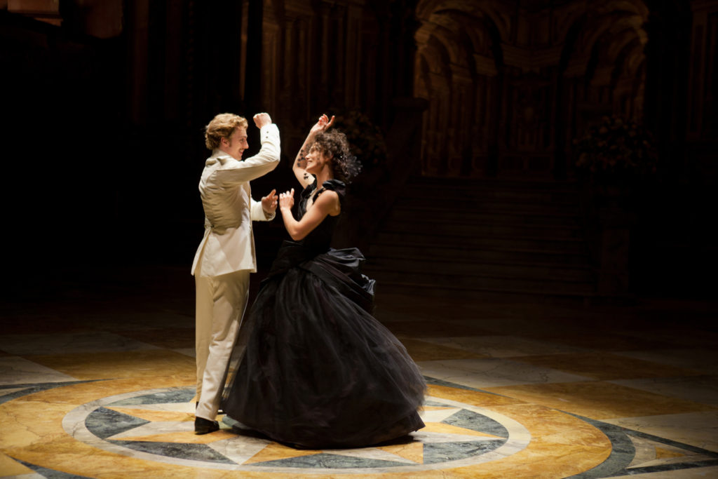 Aaron Johnson as Count Vronsky & Keira Knightley Anna Karenina 2012 picture image