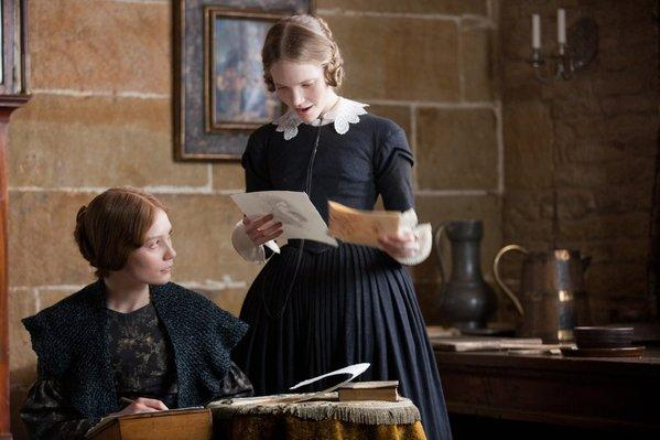 Mia Wasikowska as Jane Eyre Tamzin Merchant as Mary Rivers Jane Eyre 2011 picture image