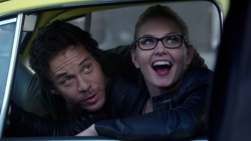 Jennifer Morrison as Emma Swan and Michael Raymond-James as Neal Cassidy Once Upon a Time Season 2 Episode 6Tallahassee picture image