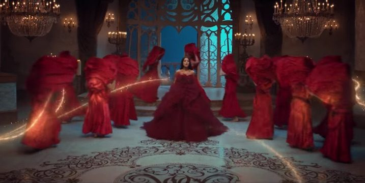 Beauty and the Beast music video with Ariana-Grande & John Legend picture image