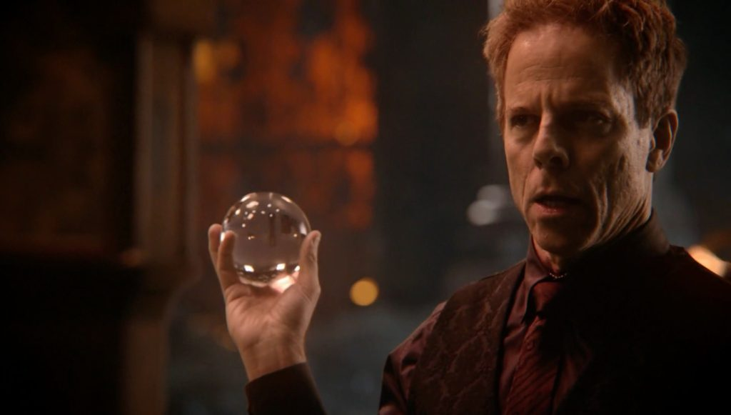 Greg Germann as Hades Once Upon a Time Season 5 Episode 14 Devils Due review picture image