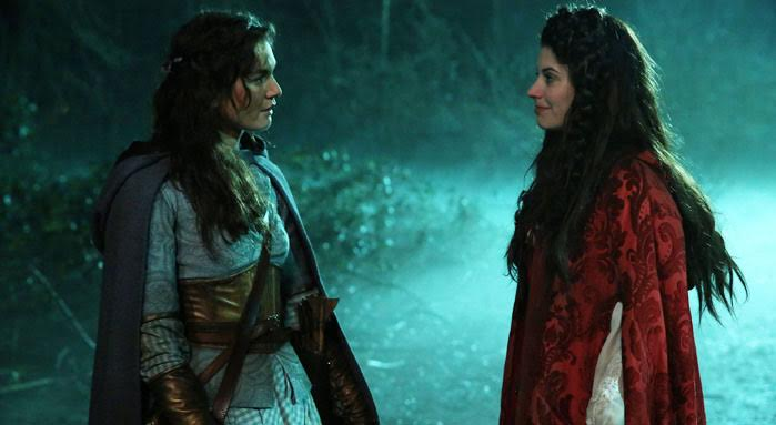Meghan Ory as Red/Ruby & Teri Reeves as Dorothy Once Upon a Time Season 5 Episode 18Ruby Slippers review picture image