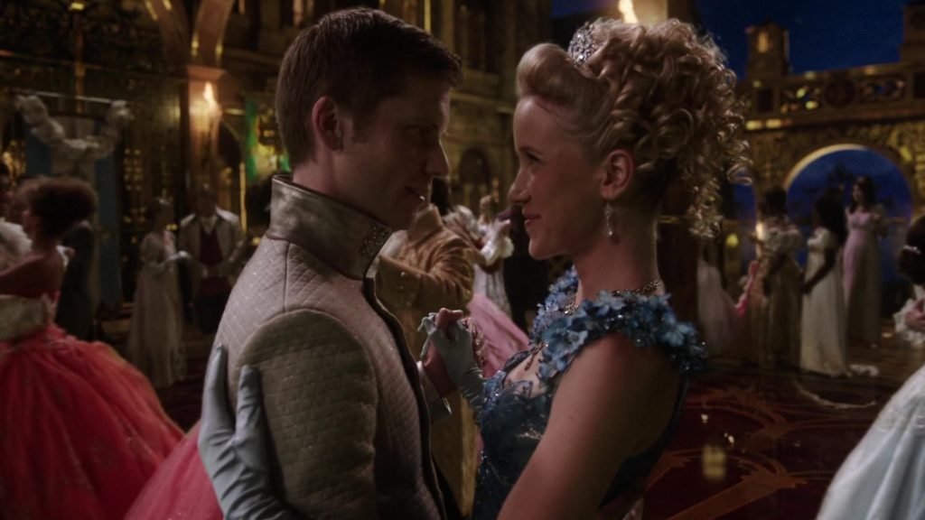 Jessy Schram as Cinderella & Tim Phillipps as Prince Thomas Once Upon a Time Season 6 Episode 3, The Other Shoe picture image