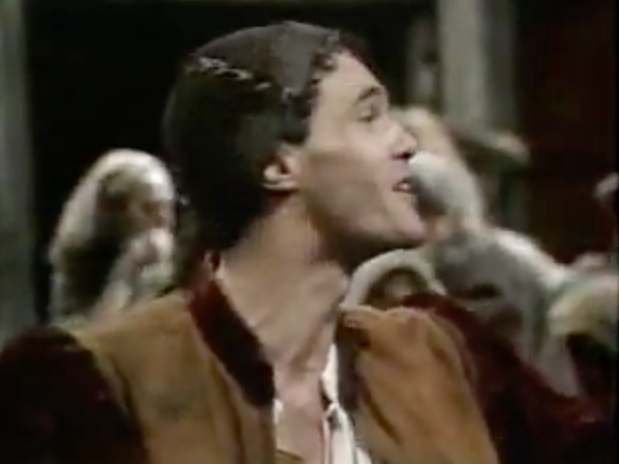David Rintoul as Jehan The Hunchback of Notre Dame 1977 picture image