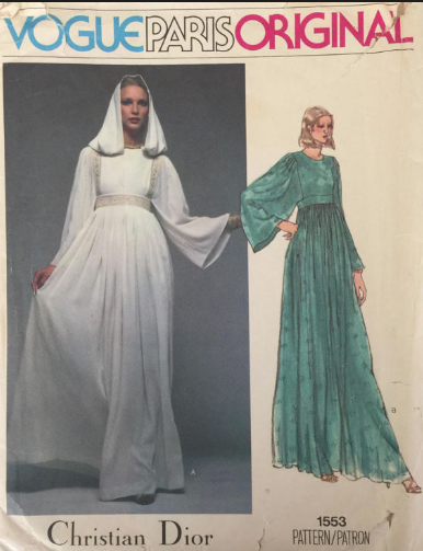 Dior pattern from 1977 picture image