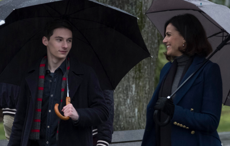 Jared S. Gilmore as Henry & Lana Parrilla as Regina Once upon a Time Season 7 Episode 20 is this Henry Mills? picture image