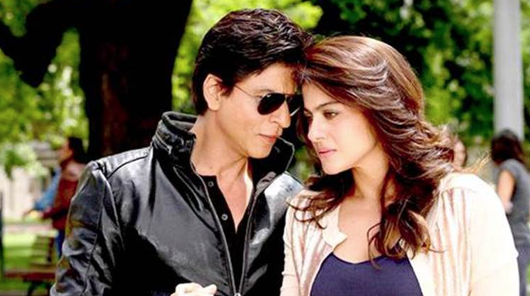 Shah Rukh Khan as Raj and Kajol as Meera, Dilwale (2015) picture image
