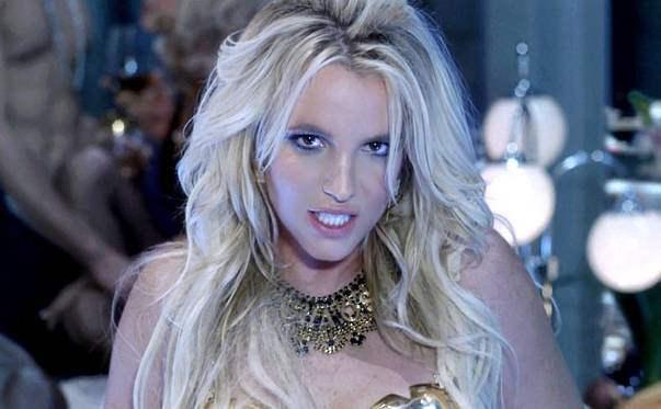 Britney Spears in the Work B**ch music video picture image