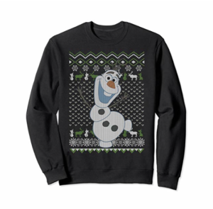 Disney Frozen Olaf & Sven Ugly Christmas Sweater picture image