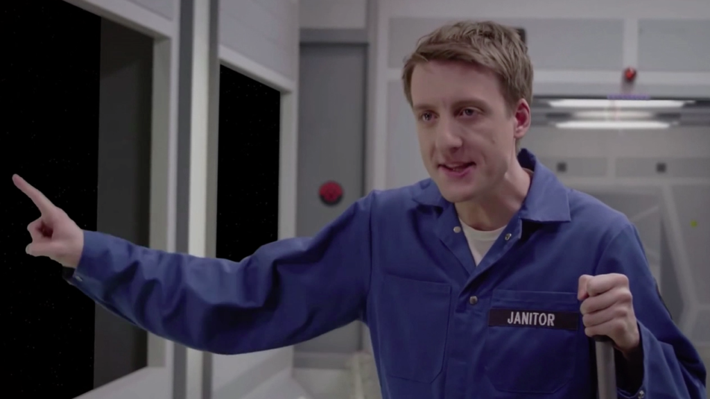Brendan Halloran as Darby, Space Janitors picture image