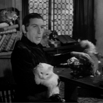 "Frollo is a crazy cat ""lady"" Sir cedric hardwicke 1939 Hunchback of Notre dame picture image"