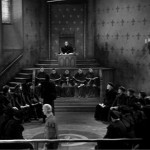 pillory 8 -Frollo in a meeting Sir Cedric hardwicke 1939 Hunchback of Notre dame  picture image
