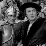 Phoebus in armor (on left) Alan Marshal 1939 Hunchback of Notre Dame picture iamge