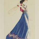 Walter Plunkett's design for Esmeralda 1939 Hunchback of Notre dame picture image