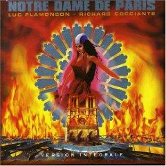 Notre Dame de Paris Album Cover