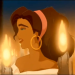 "Esmeralda Disney Hunchback of Notre Dame singing ""God Help the Outcast"""